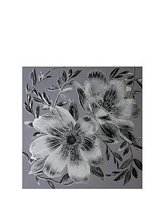 arthouse-dark-intense-silver-floral-metallic-canvas-with-diamantes