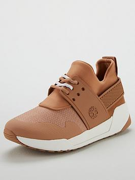 Timberland Kiri Up Knit Oxford Trainer - Brown