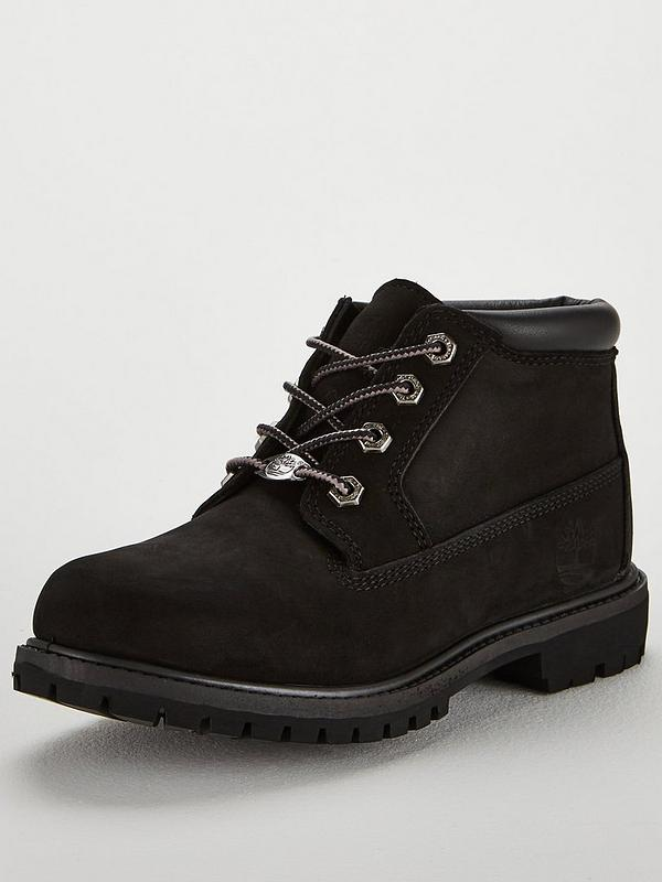 Nellie Chukka Double Ankle Boots Black
