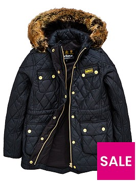 barbour-international-girls-enduro-quilt-hooded-coat-black