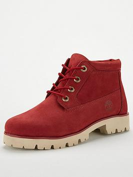 Timberland Heritage Lite Nellie Ankle Boot - Red