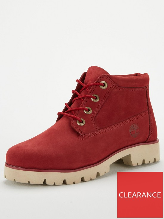 Timberland Heritage Lite Nellie Ankle Boot - Red  99a036a739