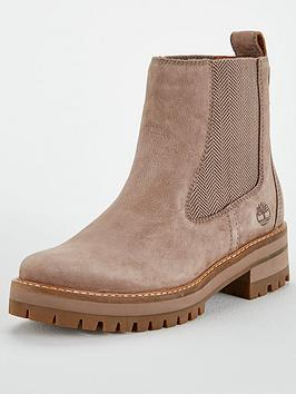 Timberland Courmayeur Valley Chelsea Ankle Boot - Taupe/Grey