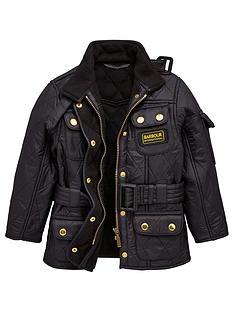 barbour-international-girls-international-quilt-jacket-black