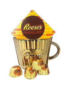 reeses-gold-mug-with-peanut-butter-cup-chocolates