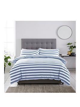silentnight-jersey-stripe-100-cotton-duvet-cover-and-pillowcase-set