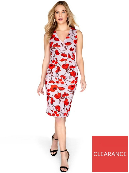 0d81e858 Girls on Film Poppy Pencil Dress - Printed | very.co.uk