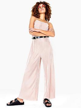 girls-on-film-strappy-plisse-jumpsuit-blushnbsp