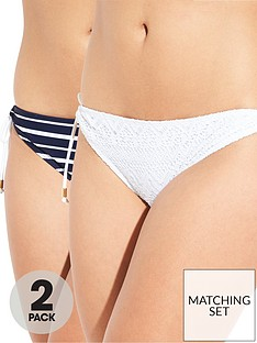 dorina-valencia-two-pack-bikini-briefs-whitenavy-stripe