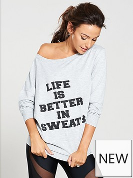 michelle-keegan-off-the-shoulder-slogan-sweat-top-grey-marl