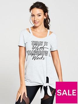 michelle-keegan-knot-front-slogan-tee-grey-marl