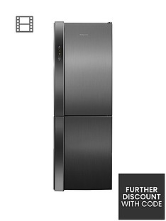 Hotpoint Day 1 XUL8T2ZXOV.1 Frost-Free Fridge Freezer - Stainless Steel Best Price, Cheapest Prices