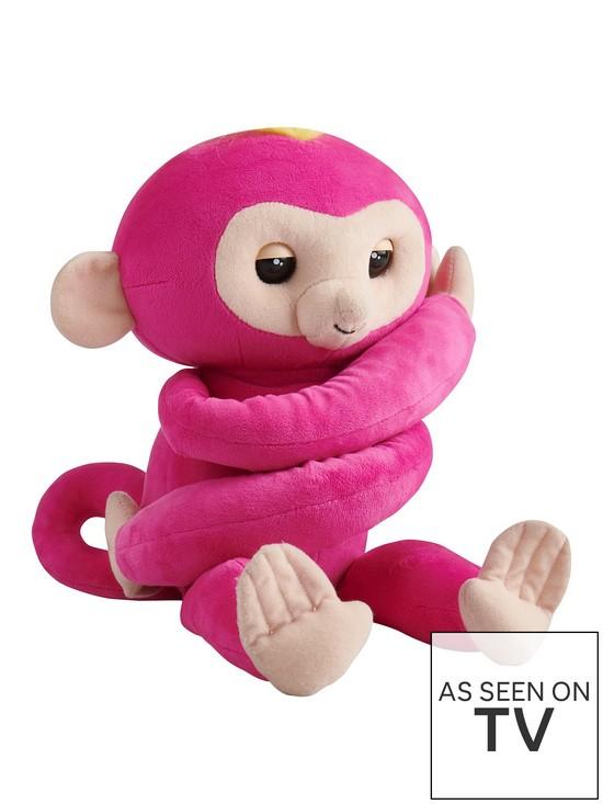 HUGS™ Monkey (Pink)