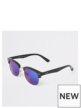 river-island-black-half-frame-retro-style-sunglasses