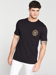 river-island-black-slim-fit-embroidered-badge-t-shirt