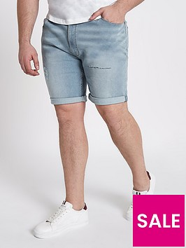river-island-big-and-tall-skinny-denim-short