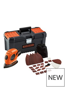 black-decker-blackdecker-mouse-sander-kit-with-16rdquo-toolbox-amp-accessories