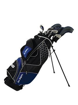 ben-sayers-left-handed-m8-package-set-blue-stand-bag-graphitesteel-mens-left-hand