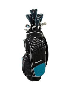 ben-sayers-m8-package-set-turquoise-cart-bag-youthsladies-right-hand