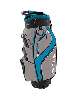 ben-sayers-dlx-cart-bag-greyturquoise