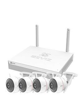 ezviz-ezwireless-cctv-kit-4-x-1080p-cameras-1x-8-channel-wireless-nvr-with-1tb-hdd-works-with-alexa-google-home-assistant