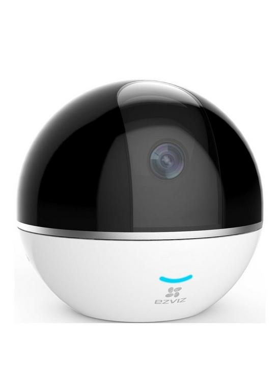 1080p Wi-Fi Indoor Smart Home Security Camera, with Motion Tracking &  Pan/Tilt - Works with Alexa & Google Assistant