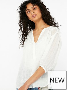 monsoon-lola-linen-gauze-top