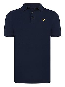 lyle-scott-boys-classic-short-sleeve-polo-shirt-navy