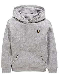lyle-scott-boys-classic-overhead-hoodie-grey-heather