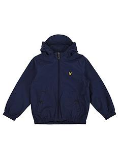 lyle-scott-boys-zip-through-hooded-windcheater-jacket-navy