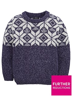 mini-v-by-very-fairisle-textured-knitted-jumper