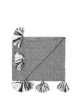 monsoon-diamond-knit-throw