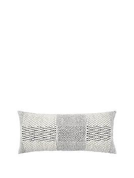 monsoon-monochrome-geometric-cushion