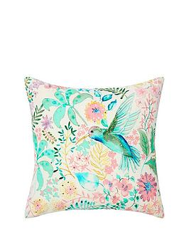 monsoon-hummingbird-cushion