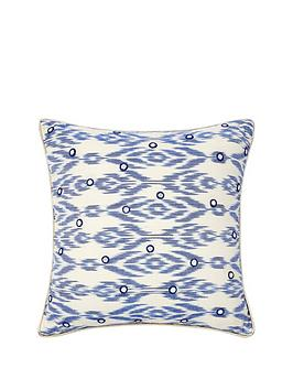 monsoon-ikat-mirror-cushion