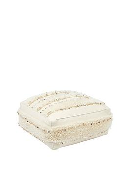 monsoon-stripe-sequin-floor-cushion