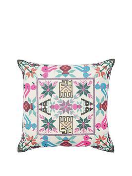 monsoon-bright-cross-stitch-cushion