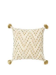 monsoon-sequin-texture-cushion