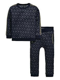 mini-v-by-very-boys-star-quilted-sweatshirt-and-jogger-set-navy