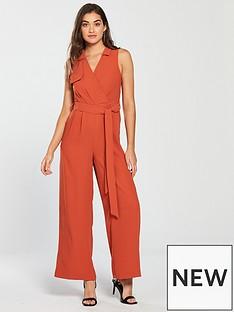 river-island-wide-leg-jumpsuit-orange