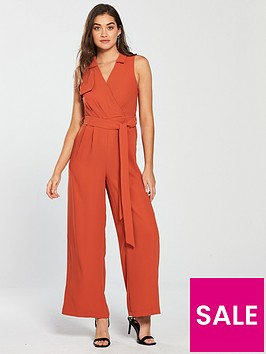 river-island-wide-leg-jumpsuit-orange