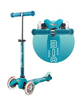 Micro Scooter Mini Micro Deluxe &Ndash; Aqua