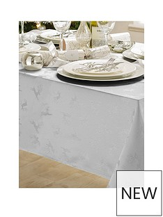 jacquard-metallic-deer-52-x-90-tablecloth-silver