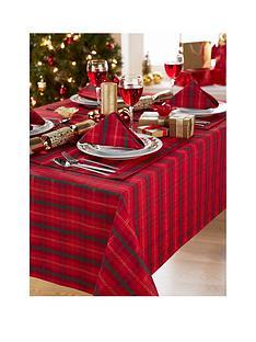 jacquard-metallic-tartan-52x90quot-tablecloth