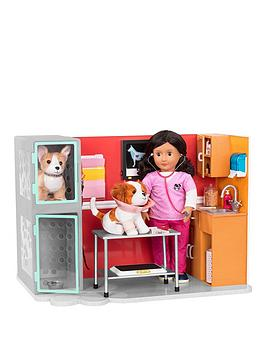 our-generation-glitter-girls-healthy-paws-vet-clinic