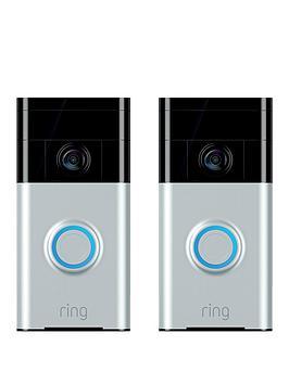 ring-video-doorbell-1-satin-nickel-twin-pack