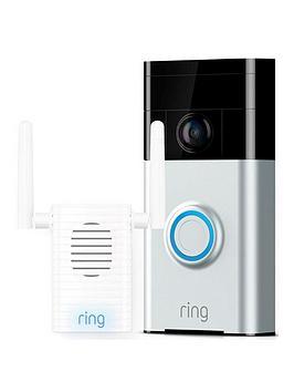 ring-video-doorbell-1-satin-nickel-amp-chime-pro-bundle