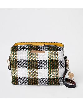 river-island-river-island-triple-comp-check-bag-black