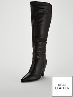 v-by-very-ikks-leather-point-slouch-knee-boots-black