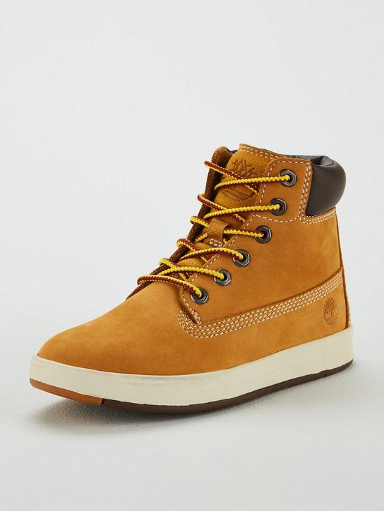 65d4417f6e62b6 Timberland Davis Square 6 Inch Boots - Wheat | very.co.uk